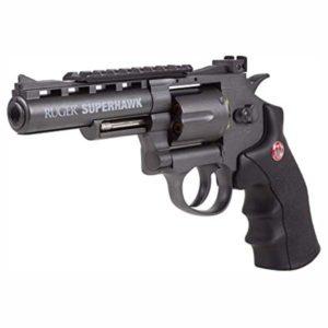 Revolver Umarex Brodax Negra Co2Bb
